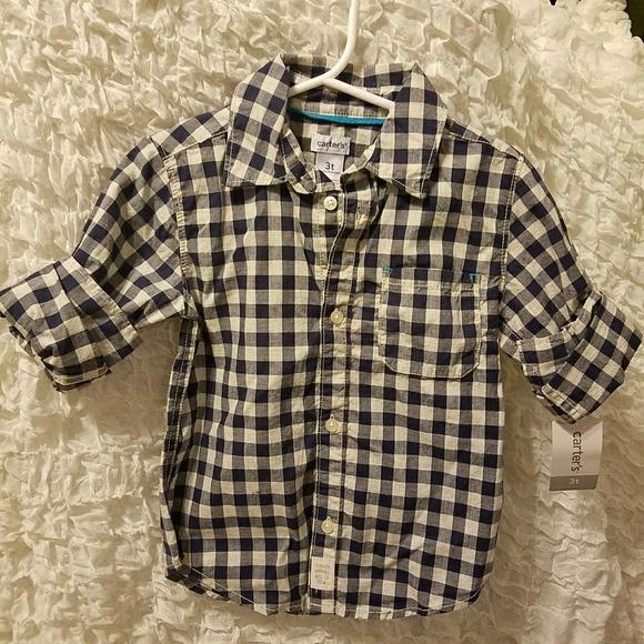 5ec82861 Carter's Shirts & Tops   Carters Boys Button Up Shirt   Poshmark